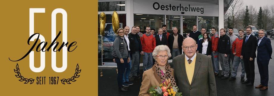 50 Jahre Autohaus Oesterhelwg