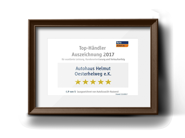 Auto Scout 24 Top-Händler 2017