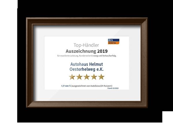 Auto Scout 24 Top-Händler 2019
