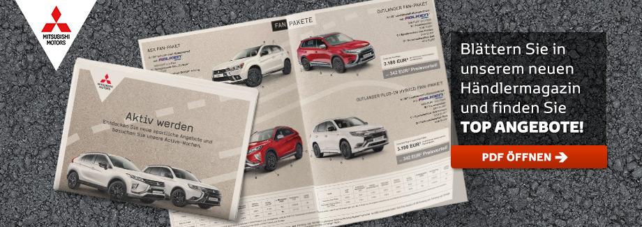 Mitsubishi Händlermagazin Q1 2019